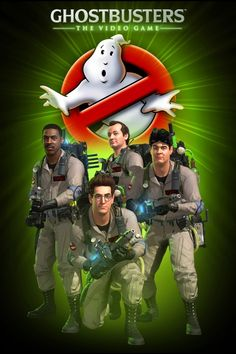 ghostbusters game poster