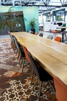 Office industrial style in Rotterdam, by Sprank Interior, chairs by Spoinq