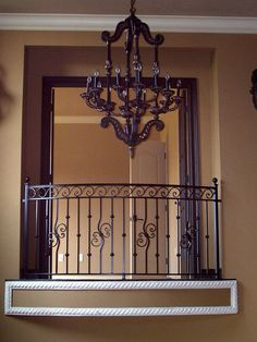Whether for your stairs, balcony or room divider, in wrought iron or aluminum, Gainesville Ironworks creates custom railing to your specifications. (click image to enlarge) Balcony Grill Design, Balcony Railing Design, Window Grill Design, Aluminum Fabrication, Metal Stair Railing, Townhouse Exterior, Interior Railings, Iron Balcony, Wrought Iron Gates