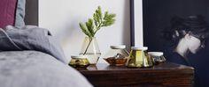 Dette er årets farger!   Hadeland Glassverk Vilje vases and jars designed by Nora Olafsdatter Krogh