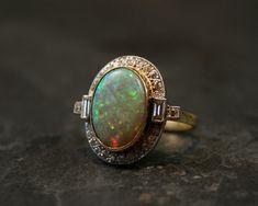 Art deco opal!