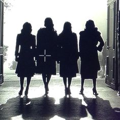 We love this photo from Shay's insta! #PLLBlackAndWhite