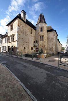 Façade de la Maison de Jeanne d'Albret Photo : Jarri Mimram