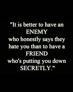 Enemy vs friend