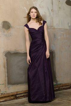 The bridesmaids' dress (wrong color)