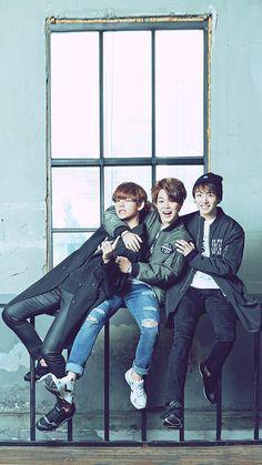 Taehyung, Jimin, Jungkook