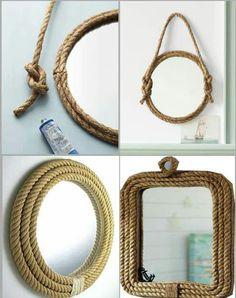 ¿Tienes un espejo viejo en casa? #reutilizalo y crea un diseño diferente