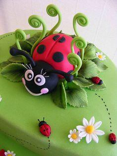 Ladybug - Aska's birthday cake?