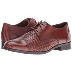 Cole Haan Jagger Weave Oxford (Sequoia/Sequoia Weave) Women's Lace up... ($185) ❤ liked on Polyvore featuring shoes, oxfords, oxford shoes, short heel shoes, laced shoes, cole haan shoes and low heel shoes