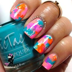 82d752710a3 22 Amazing Nail Art Tutorials by Blogger The Crafty Ninja