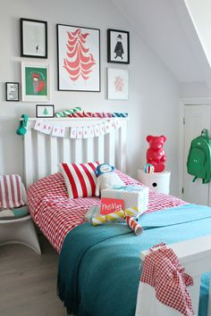 Create a festive feel in a child's room