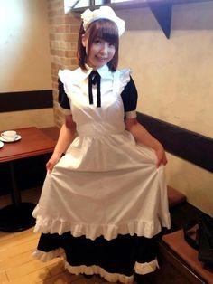 "Emi Nitta (新田恵海) - Voice actress of Malga Naruze from ""Horizon in the Middle of Nowhere"" / Kotori Shirakawa from ""T. Maid Cosplay, Cute Cosplay, Cosplay Outfits, Cosplay Girls, Maid Outfit, Maid Dress, Moe Manga, Beautiful Girl Wallpaper, Maid Uniform"
