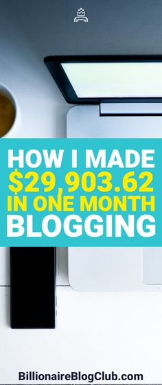 Looking to make extra money? Blogging is a great way to do that. So much so that you can turn it into a full-time job. Here's how I made $29,000 in one month blogging.