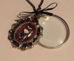 Magnifying Glass Emily The Strange Swivel by JENSTARDESIGNS, $24.99