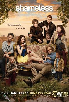 #Shameless - 3ª temporada estreiou a 14 de Jan. na Showtime