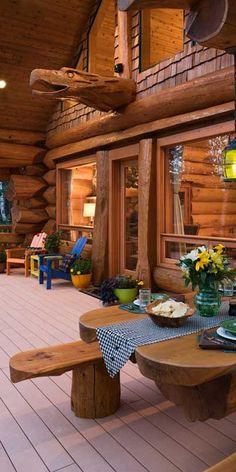 Timber Kings HGTV Pioneer Log Homes | #loghomes #logcabins #loghomeliving #logcabinhomes