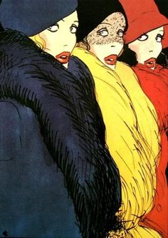 René Gruau (1909-2004) was a renowned French fashion illustrator whose exaggerated portrayal of fashion design through painting has had a lasting effect on the fashion industry. El artista francés de origen italiano René Gruau (1909-2004) fue un famoso ilustrador cuya interpretación exagerada de la moda a través de la pintura ha tenido un efecto duradero en la propia industria. www.culturainquieta.com