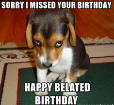 85 Happy Belated Birthday Memes for When You Just Forgot - Winkgo Happy Belated Birthday Meme, Happy Birthday Quotes, Happy Birthday Greetings, It's Your Birthday, Funny Birthday, Birthday Wishes And Images, Birthday Images, Wishes Images, Funny Food Memes