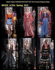 I LOVE THESE DRESSES! @Reem_Acra #fashion #fashionblogger #FashionWeek #reem_acra #dresses #designer #couture