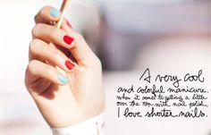 lovely nail combo