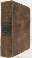 Rare Antique Book Dr. Gregory's History of the Christian Church 1832