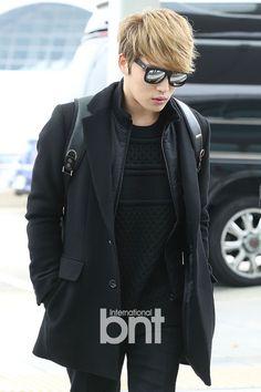 [PRESS PICS] 141108 Kim Jaejoong at Incheon Airport heading to Vienna, Austria | JYJ3