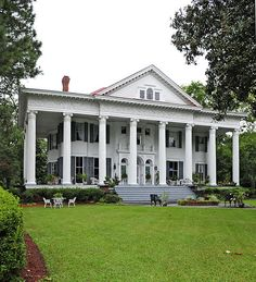 Rosemary Hall ~ This Greek Revival home was completed in 1900. It is in North Augusta, S.C.