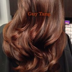 Rich wood tones for Autumn by Guy Tang #balayage #ombre