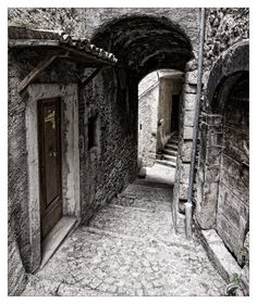 Pacentro, Abruzzo, Italy by rhipster #orginsitaly #genealogy