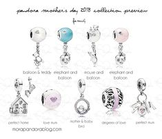 Pandora Mother's Day 2018 preview occasion charms