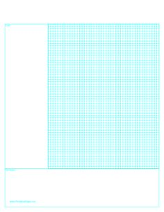 Printable Cornell Note Paper with Grid