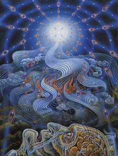 Alex Grey-The Soul Finds its Way Home