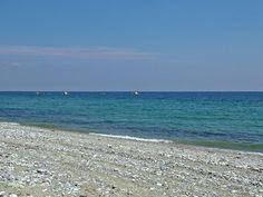 Greek sea shore