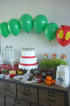 A Very Hungry Caterpillar Party...