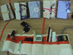 organizador de bolsas como carteira de tecido - Pesquisa Google