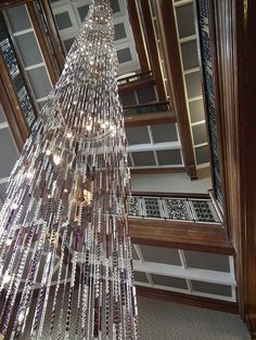 Chandelier at Grand Central Hotel, Glasgow, Scotland