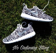 Nike Bling Roshe Run Women s Print by NoOrdinaryBling on Etsy Military  Wedding fa19c98e0d34