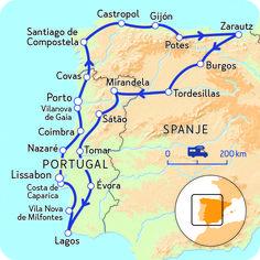 Camperreis door Spanje en Portugal | NKC