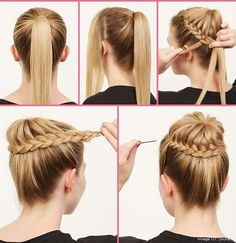 Fashionable Hairstyle Tutorials for Long Thick Hair | From youfacts