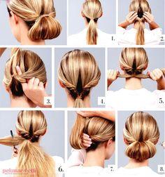 5 dakikada kolay topuz yapımı | Saç Modelleri | Pek Marifetli!