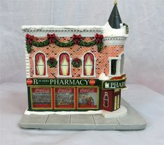 St. Nick's Pharmacy (Side View), Lemax (#2244)