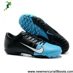 Latest Listing CR Nike Mercurial Glide III TF in Blue Black Soccer Shoes On Sale