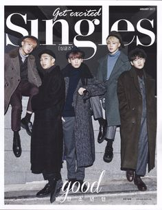 •BTS for 'Singles' Magazine January 2017