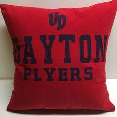 A personal favorite from my Etsy shop https://www.etsy.com/listing/510139511/dayton-ohio-university-tshirt-pillow