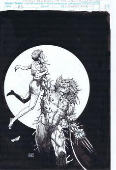 #BarryWindsorSmith desenhou a capa de Marvel Comics Presents #76. O gibi chegou às bancas americanas em 19/3/1991.