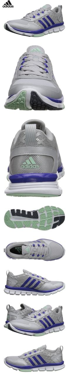 the best attitude 1a2ed f2d53 Adidas Womens Speed Trainer 2 W Vista GreySilver MetallicBold Pink  Ankle-High Synthetic Running Shoe -