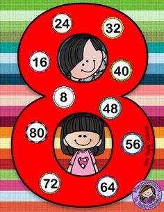 Kids Math Worksheets, Maths Puzzles, Multiplication Worksheets, Math For Kids, Activities For Kids, Happy Birthday Banner Printable, Math Board Games, Math Blocks, Magic Squares