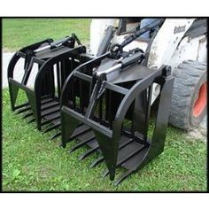 New 6\' Tree Terminator Grapple Fork Skid Steer Attachment Bobcat Tractor Mount | GF1200 | $4,199.00