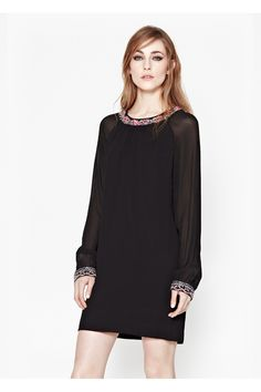 Siren Jewel Tunic Dress | New Arrivals | French Connection Usa