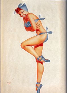 Frio | George Petty | Pin-Up artist | #Esquire #Vintage #Girls #Covers #Retro #USA #40s #50s #60s http://defharo.com